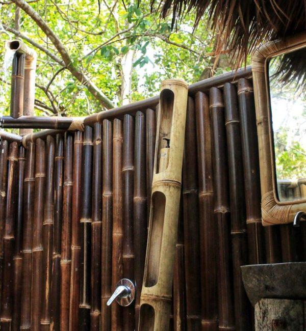 Outdoor Bathroom Batik Villa